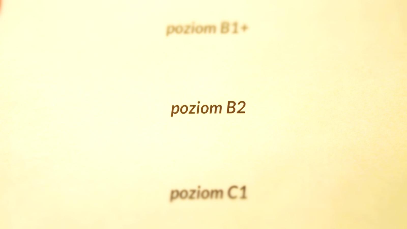 poziom b2 cefr