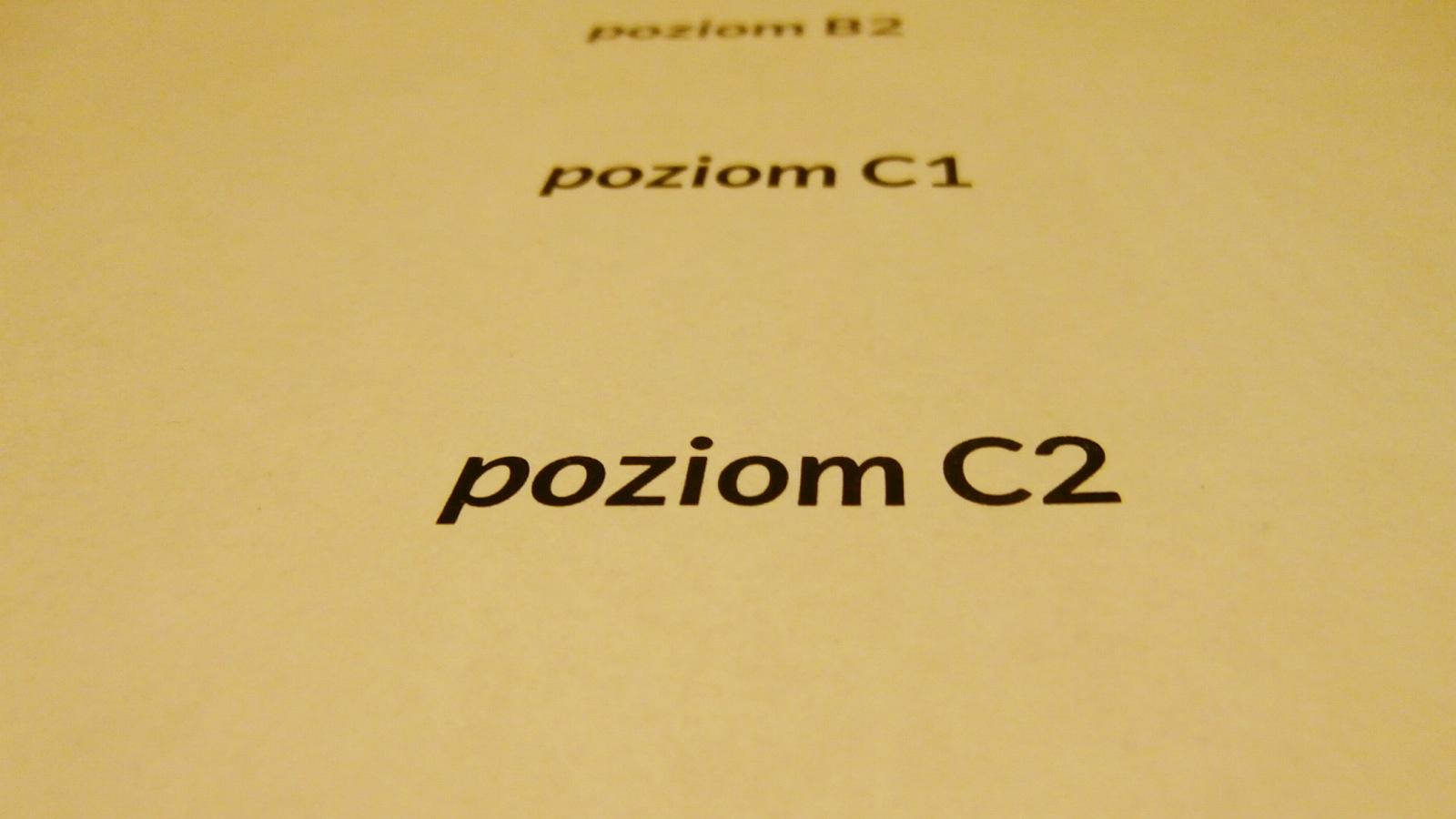poziom c2 cefr