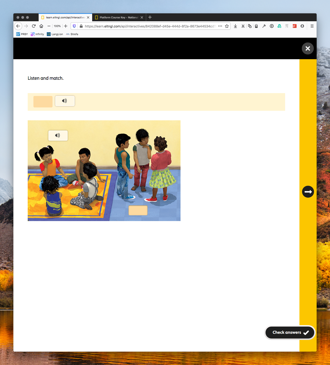national geographic learning online practice